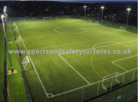 Synthetic Turf Pitch in artificial grass