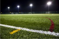Synthetic 3G surfacing for sports courts