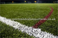 Third Generation Synthetic Turf for sports surfaces