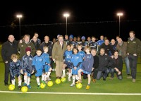 Opening of Synthetic Turf Sports Pitch
