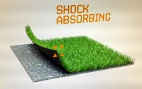 rebounce shockpad for sports surfaces