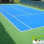 Acrylic MUGA Anti Slip Paint Colour Coating to Sports Tennis Court Cost