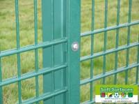 Ballstop fence rebound MUGA sport fencing contractors