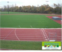 In situ Polymeric Surface Sport MUGA Rubber EPDM Surfacing and suppliers