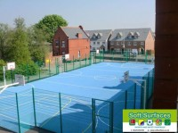 Polymeric Surfacing Sport Rubber Pitches All Weather Surfacing