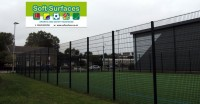 Super Rebound 868 weldmesh MUGA sporting fence designs