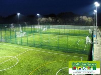 Floodlit Synthetic Turf All Weather Pitch