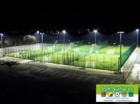 Floodlit artificial grass 3G football sports surfaces MUGA