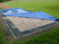 Long Jump Sand Pit Cover
