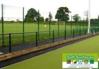 Spectator Rail Ball Stop MUGA Sports Fence