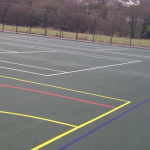 Recolouring of Tennis Courts, Basketball MUGA, Netball MUGAs