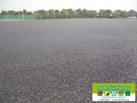 Resin Bound Rubber Crumb Sport Surface Underlay