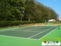 Tennis Court Contractors Painters UK Directory