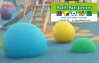 Rubber Tarmac Play Area 3D EPDM Sphere