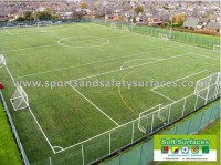 4th, Fifth, 6th Generation Sports Surfaces Artificial Synthetic Turf Pitch