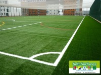 Fourth, 5th, 6th Generation Sports Surfaces Artificial Synthetic Plastic Pitch