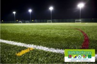 Fourth, 5th, 6th Generation Sports Surfaces Artificial Synthetic Turf Pitch