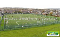Fourth, 5th, Sixth Generation Sports Surfaces Artificial Synthetic Turf Pitch