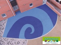 Playground Rubber Soft Spongy Bouncy Safety Surfacing Contractors fund