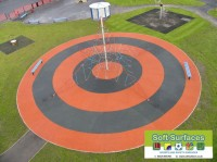 Playground Rubber Soft Spongy Bouncy Safety Surfacing Contractors maintain