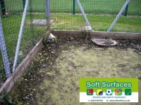 Rejuvenation, Restoration Sand Filled Artificial Turf Sports Pitch