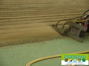 Rejuvenation, Restoration Sand Filled Astro Turf Surface