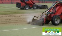 Restoration of Tennis Courts MUGA Surface