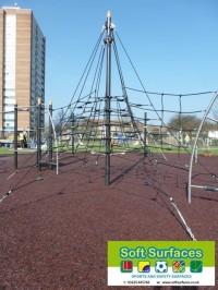 Rhino Mulch Bound Rubber Playground Safety Surfacing Company