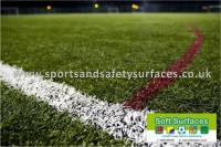 Long Pile Artificial Grass Sport Surfacing 3G, 4G, 5G, 6G