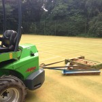 Drag Brushing Artificial Turf Pitches