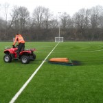 Drag Brushing Maintenance for synthetic pitch