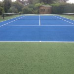 Hard Court Tennis Surface Size