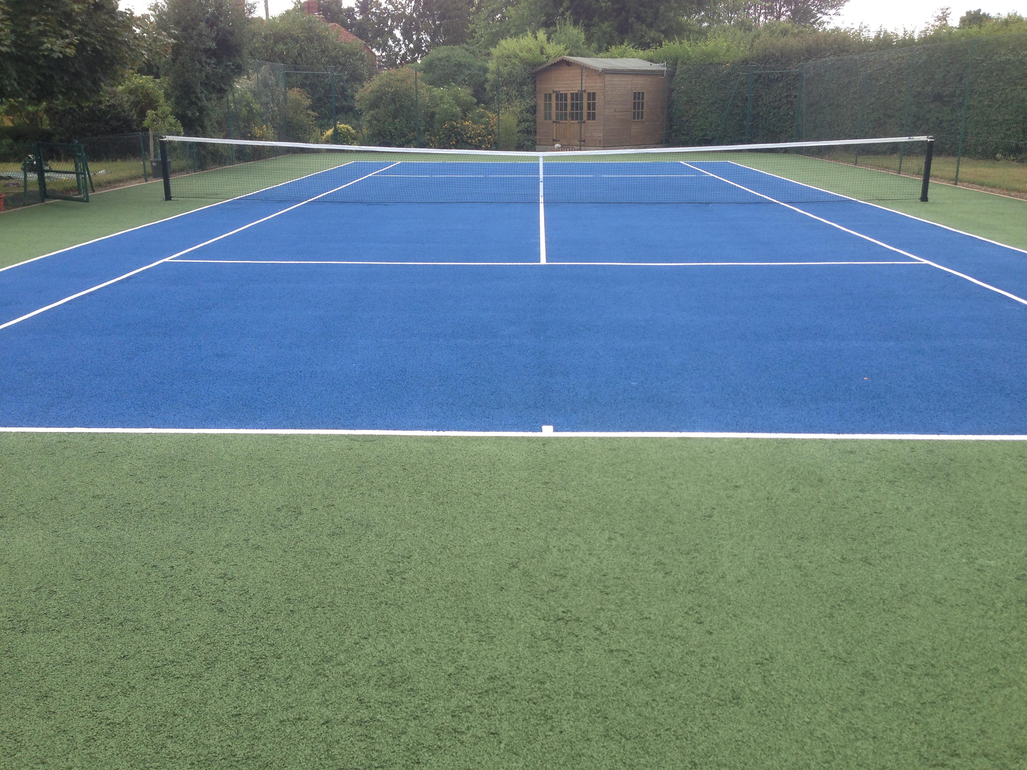 Tennis court flooring specifications gurus floor for Sport court cost per square foot