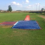 Multi Lane Triple Jump Runway and Sand Pit