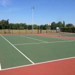 Multi Use Tennis Court Sizes