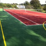 Tennis Court Sport Surface Dimensions