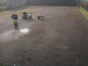 Tennis Court Maintenance Contractors