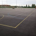 MUGA Netball Court Maintenance Company