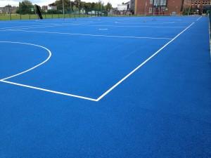 Netball Court Painting Companies UK
