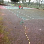 Tennis Surface Cleaning and Maintenance