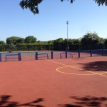 Basketball Court Surfaces Line Marking