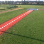 Synthetic Long Jump Track Builders