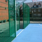 Basketball Court Fencing Installation