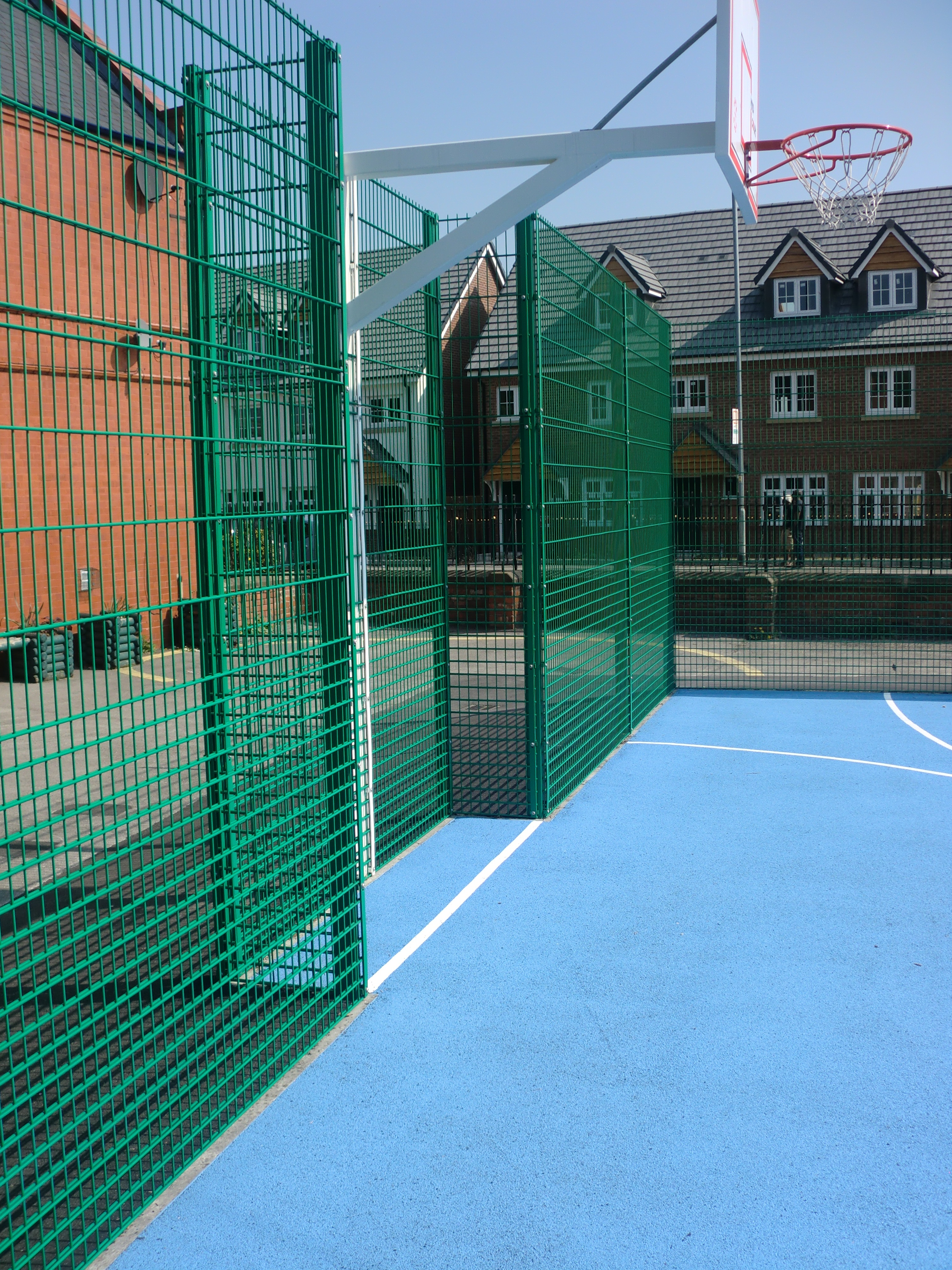 Basketball Court Fencing Basketball Surface Fences