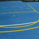 Basketball Court Surfaces Installation and Painting
