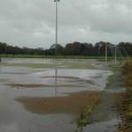 Waterlogged Outdoor Hockey Pitch Maintenance