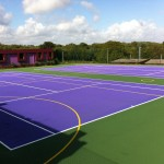 Tennis Court Surfacing Designs