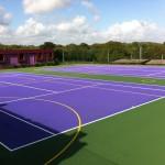 Tennis Court Surfacing Designs