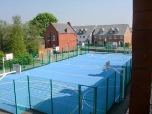 Polymeric Basketball Court Flooring Contractors