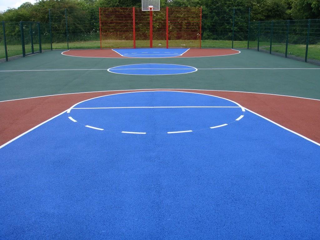 Tarmac Macadam Basketball Muga Line Marking Sports And